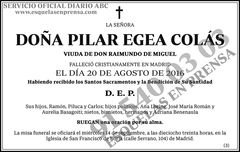 Pilar Egea Colás
